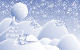 Christmas scenery Stock Images