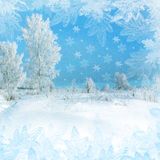 Christmas scenery Royalty Free Stock Image
