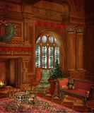 Christmas scenery 7 royalty free illustration