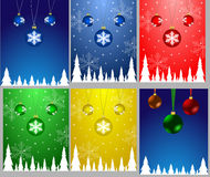 Christmas scenes Stock Photo