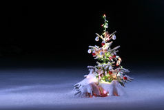 Christmas scenic photo Royalty Free Stock Photography