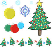 Christmas scrap clipart Royalty Free Stock Image