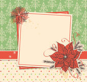 Christmas scrapbook Royalty Free Stock Images