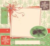 Christmas scrapbook Stock Images