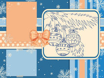 Christmas scrapbook Royalty Free Stock Photo