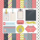 Christmas Scrapbook and Design Elements1 Stock Photography