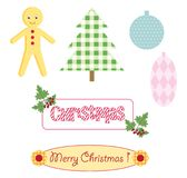 Christmas scrapbooking Stock Photo