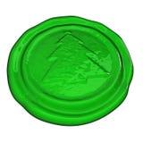 Christmas Seal Royalty Free Stock Image