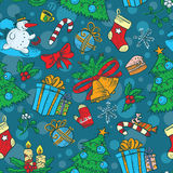 Christmas seamless Royalty Free Stock Images