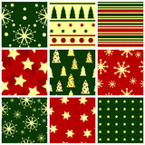Christmas seamless Stock Image
