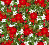 Christmas  seamless background Stock Photography