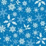 Christmas seamless background Stock Image