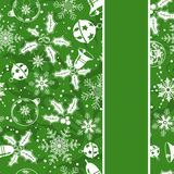 Christmas seamless background Stock Image