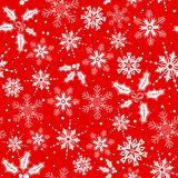 Christmas seamless background vector illustration
