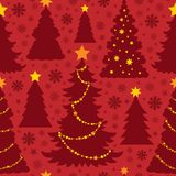 Christmas seamless background 4 Royalty Free Stock Photo