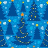 Christmas seamless background 6 Stock Photos