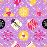 Christmas Seamless background. Holiday pattern for your design. Royalty Free Stock Images