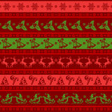 Christmas seamless background royalty free illustration