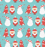 Christmas Seamless Background Royalty Free Stock Photo