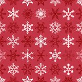 Christmas seamless background with snowflakes Stock Photography