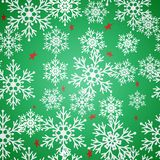 Christmas seamless background with stars Royalty Free Stock Photo