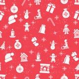 Christmas seamless background Stock Photos