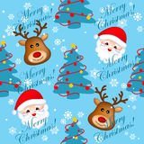 Christmas seamless backgrounds Royalty Free Stock Photos