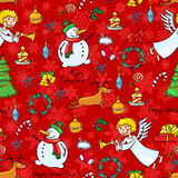 Christmas seamless Royalty Free Stock Photos