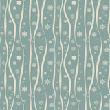 Christmas seamless with decorative snowflakes Royalty Free Stock Images