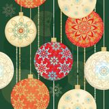 Christmas seamless design Royalty Free Stock Images