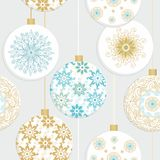 Christmas seamless design Stock Photography