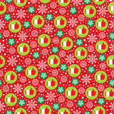 Christmas seamless. This is Christmas seamless design. Vector file Royalty Free Stock Photography
