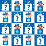 Christmas seamless Royalty Free Stock Photography