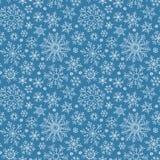 Christmas seamless doodle pattern stock image