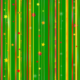 Christmas seamless green pattern Royalty Free Stock Image