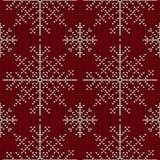 Christmas seamless knitted background. EPS 10 vector illustration stock illustration