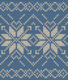 Christmas Seamless Knitting background. EPS 10 vector. Set of two winter sweater pattern. Christmas Seamless Knitting background. And also includes EPS 10 vector Stock Photos