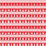 Christmas seamless patern Royalty Free Stock Image
