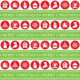 Christmas Seamless Patern Stock Images