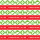 Christmas Seamless Patern Stock Photos