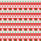 Christmas Seamless Patern Stock Photography