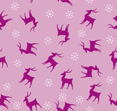 Christmas seamless pattern. Illustration Stock Images