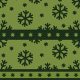 Christmas seamless pattern Stock Photography