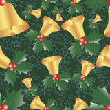 Christmas seamless pattern. Stock Image
