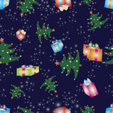 Christmas seamless pattern. Royalty Free Stock Images