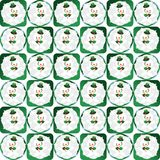 Snowman seamless pattern Royalty Free Stock Image