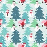 Christmas seamless pattern. Stock Photography