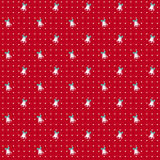 Christmas seamless pattern with bells. Vector background. Stock Photos