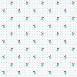 Christmas seamless pattern with bells. Vector background. Royalty Free Stock Image
