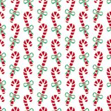 Christmas seamless pattern of candy canes. Bright New Year wrapping paper. Christmas seamless pattern of candy canes. Bright New Year wrapping paper Royalty Free Stock Images